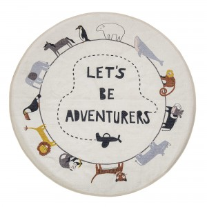 Dywanik LET'S BE ADVENTURERS Ø130 cm