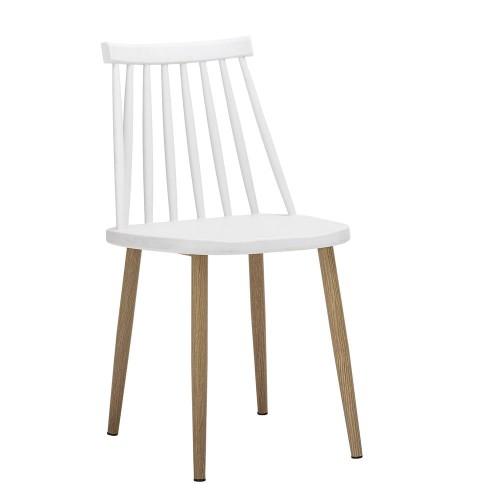 Krzesło Ogrodowe Bajo Bloomingville Białe